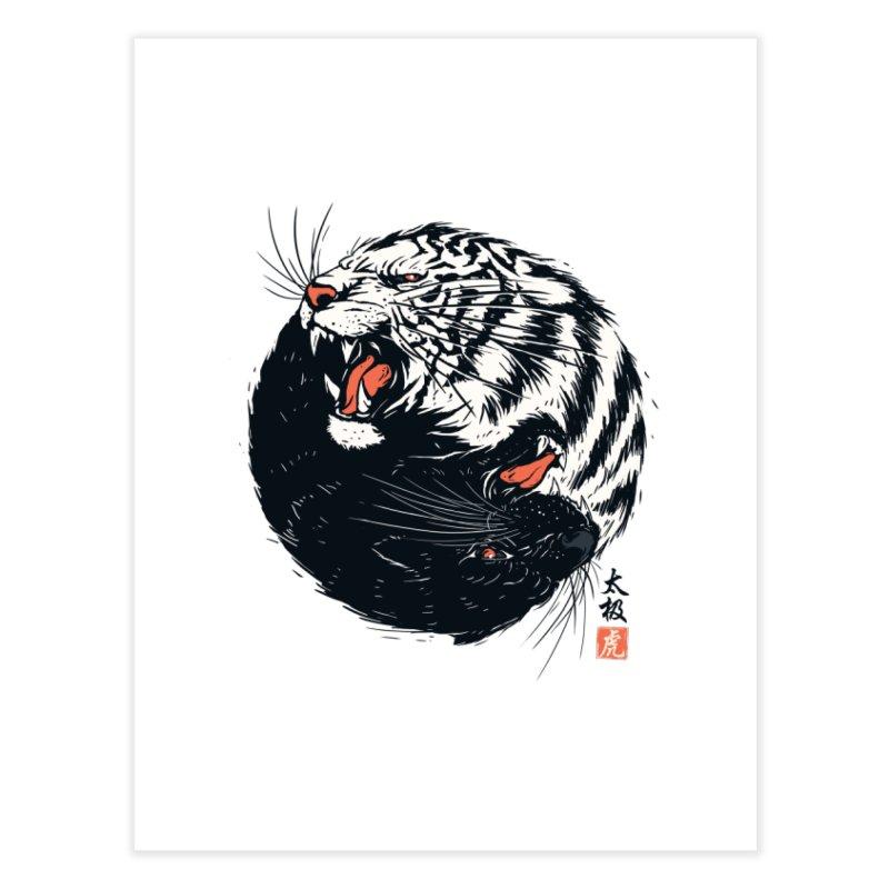 Tachi Tiger Home Fine Art Print by Steven Toang