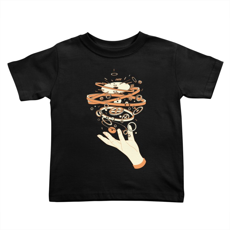 Time Controller Kids Toddler T-Shirt by Steven Toang