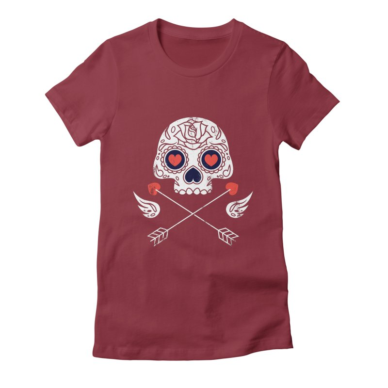 Cupido Women's Fitted T-Shirt by Steven Toang