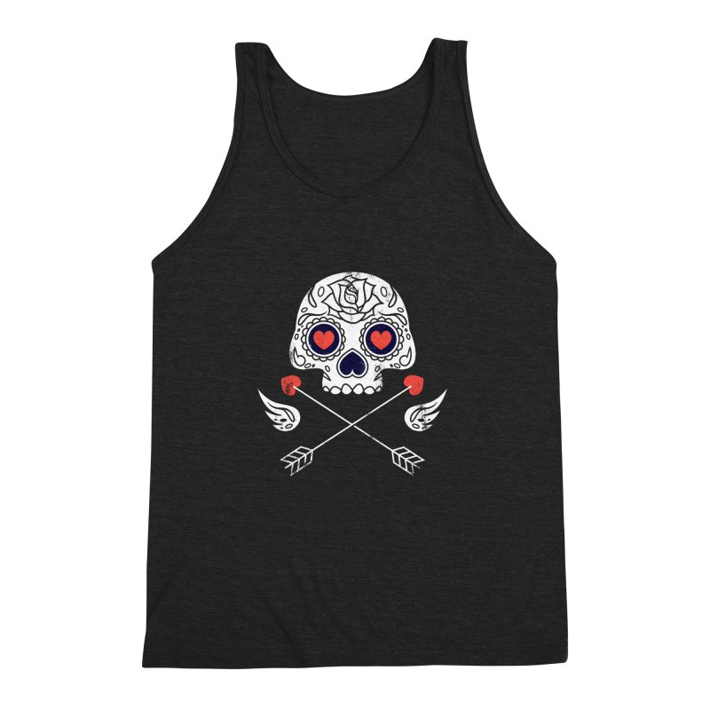 Cupido Men's Triblend Tank by Steven Toang