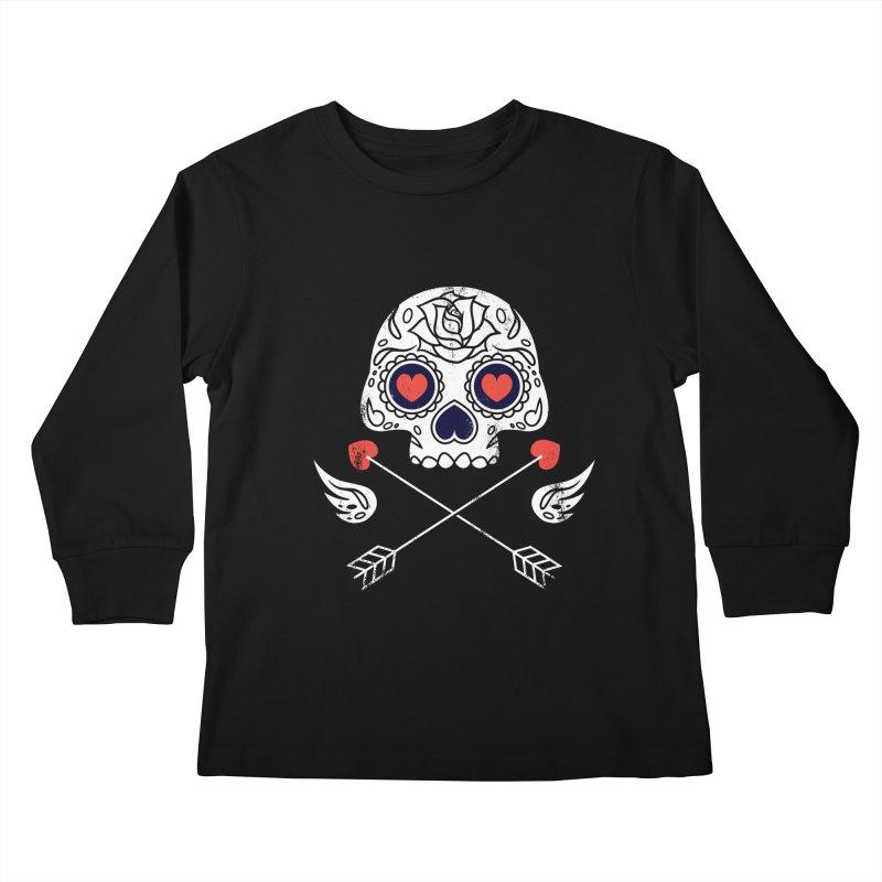 Cupido Kids Longsleeve T-Shirt by Steven Toang