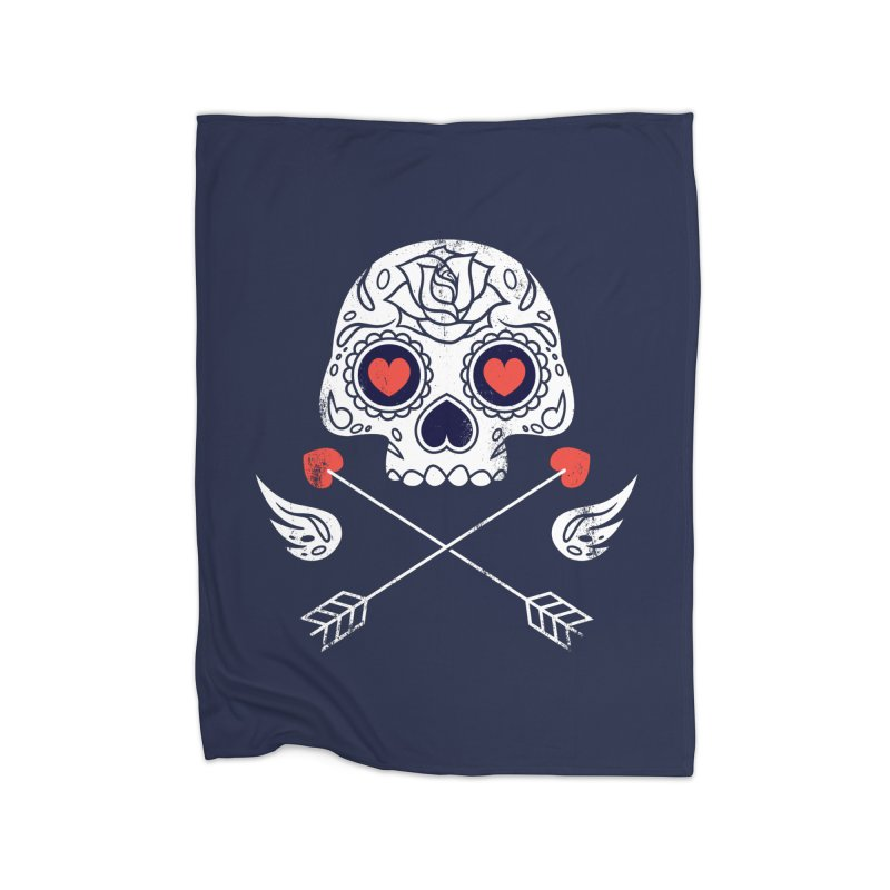 Cupido Home Fleece Blanket by Steven Toang