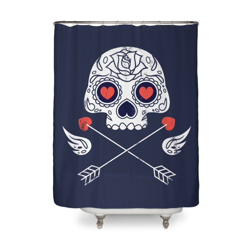 Cupido Home Shower Curtain by Steven Toang