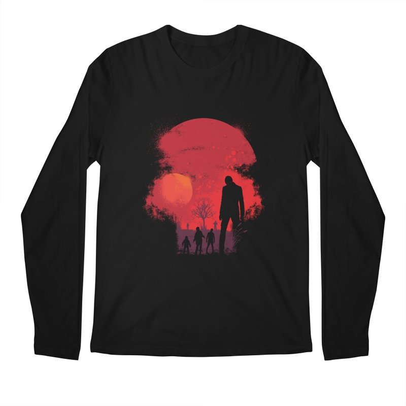 Dead End Men's Longsleeve T-Shirt by Steven Toang