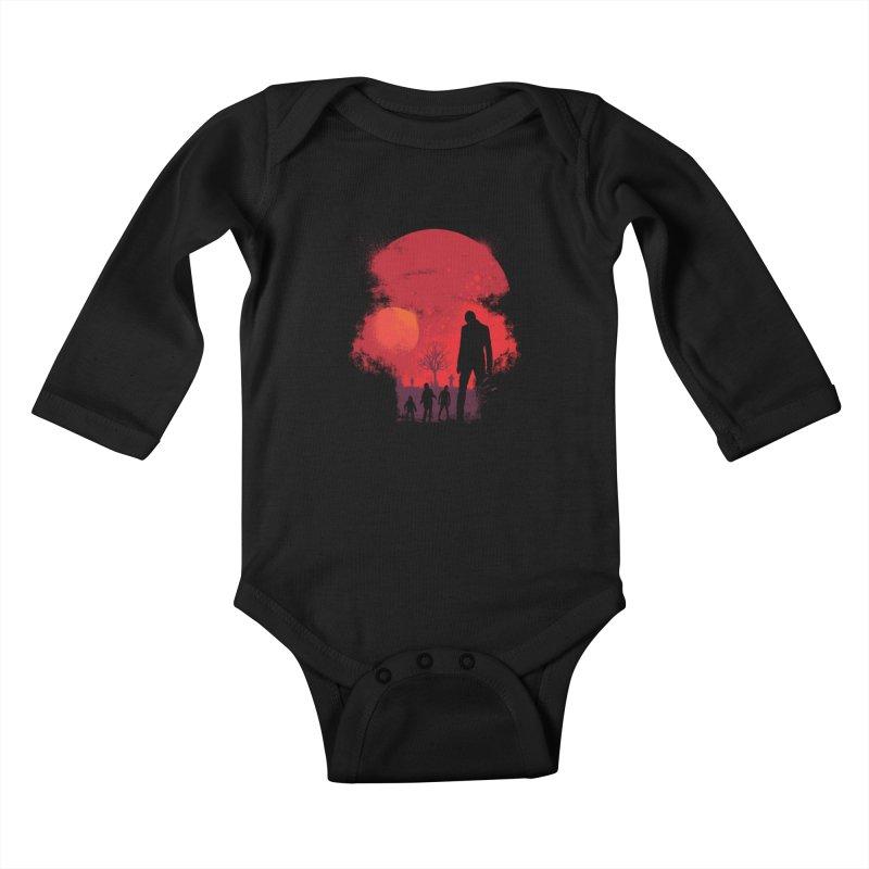 Dead End Kids Baby Longsleeve Bodysuit by Steven Toang