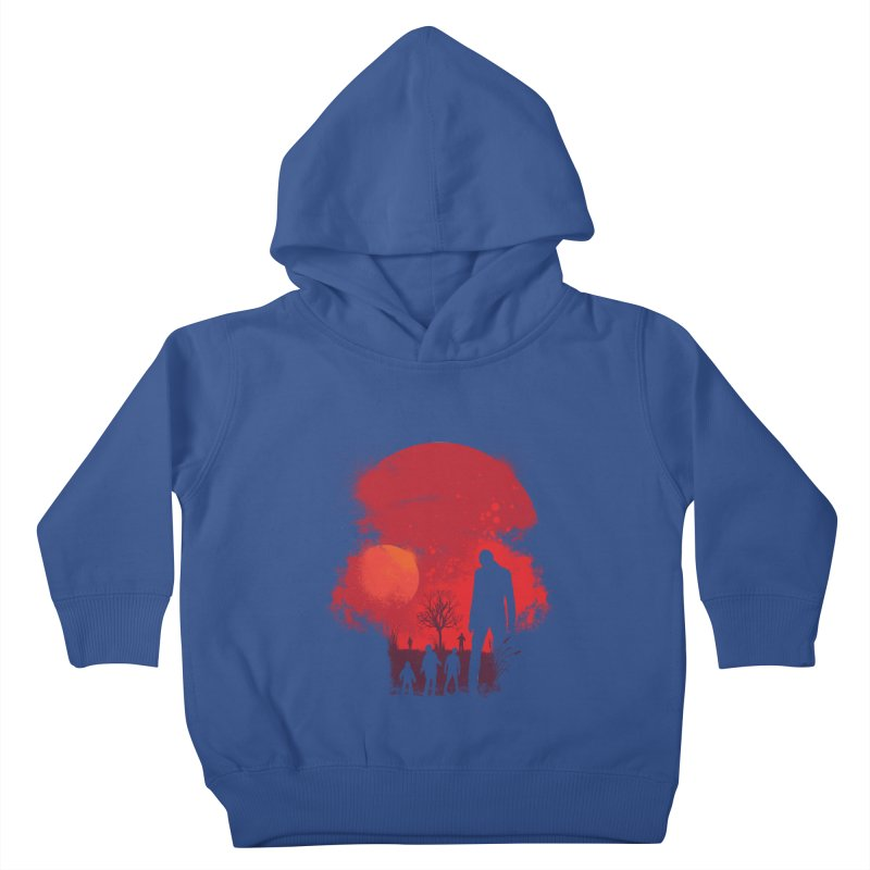 Dead End Kids Toddler Pullover Hoody by Steven Toang