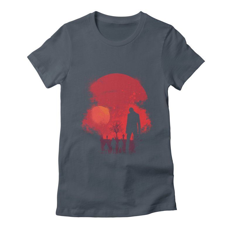 Dead End Women's Fitted T-Shirt by Steven Toang