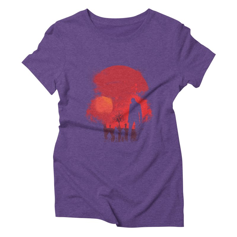 Dead End Women's Triblend T-shirt by Steven Toang