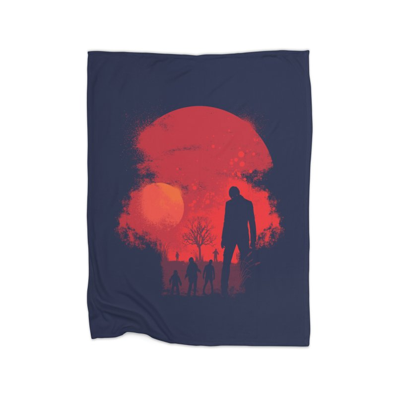 Dead End Home Fleece Blanket by Steven Toang