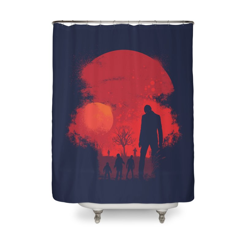 Dead End Home Shower Curtain by Steven Toang