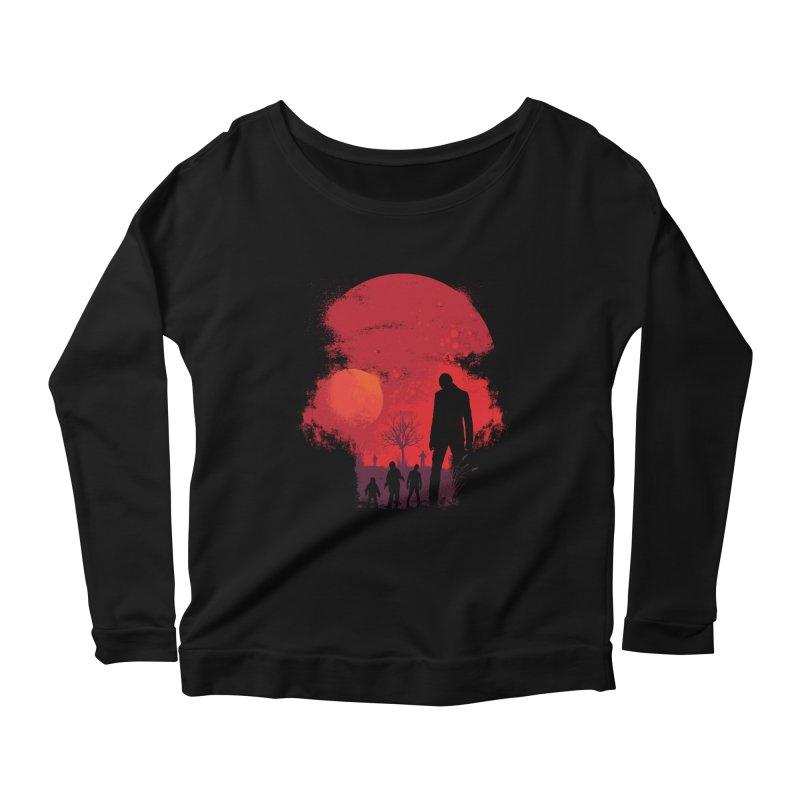 Dead End Women's Longsleeve T-Shirt by Steven Toang