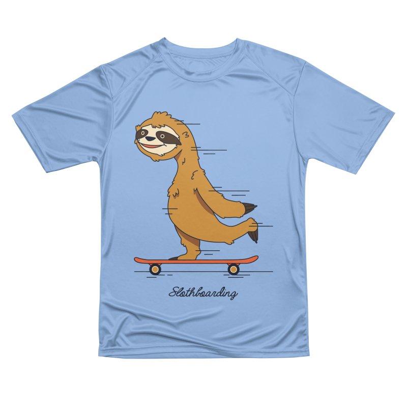Slothboarding Women's T-Shirt by Steven Toang
