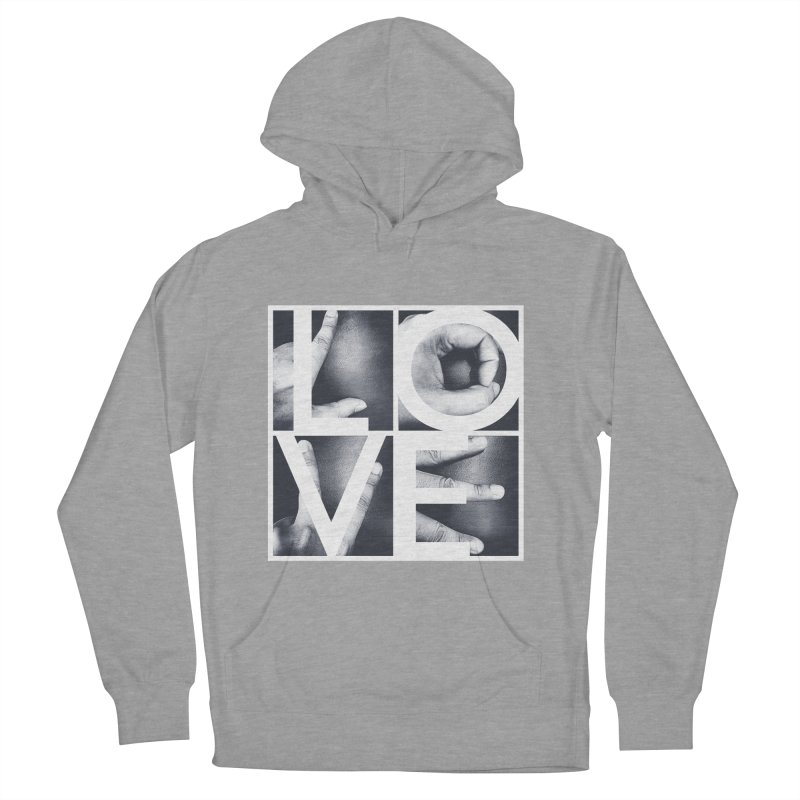 LOVE Men's Pullover Hoody by Steven Toang