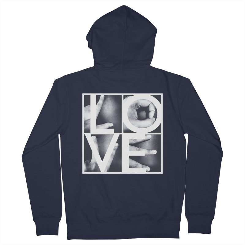 LOVE Women's Zip-Up Hoody by Steven Toang