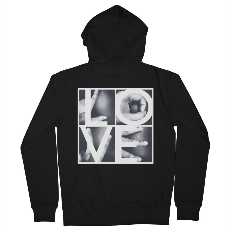 LOVE Men's Zip-Up Hoody by Steven Toang