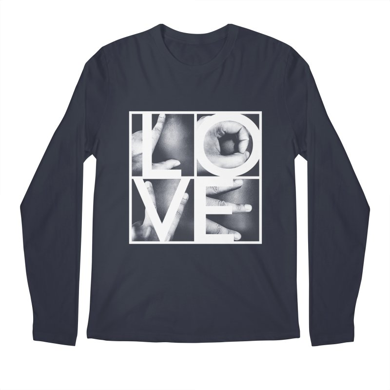 LOVE Men's Longsleeve T-Shirt by Steven Toang