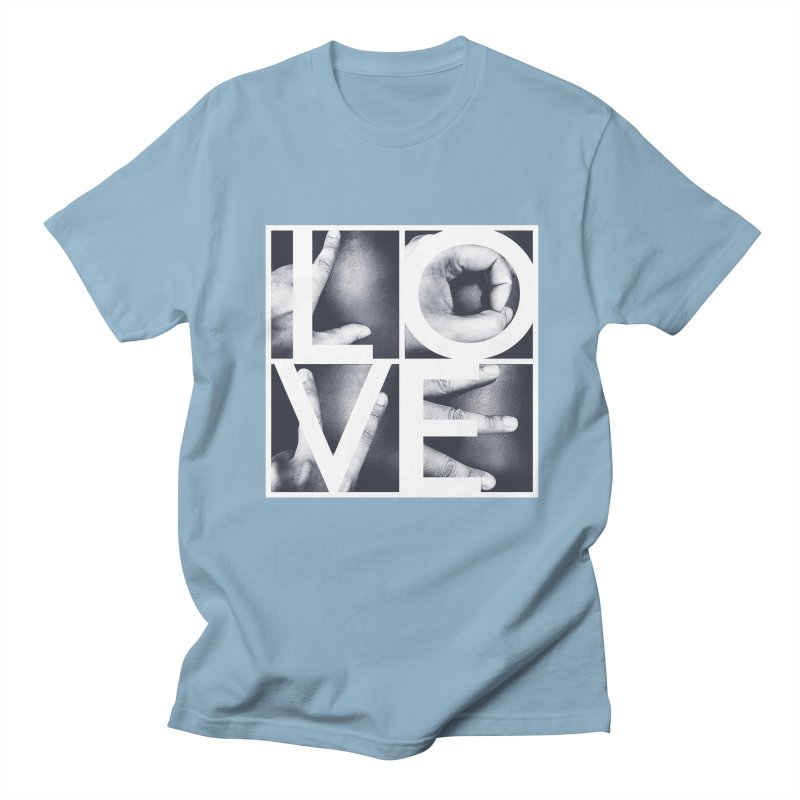LOVE Men's T-shirt by Steven Toang