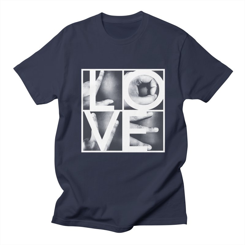 LOVE Men's T-shirt by Steven Toang
