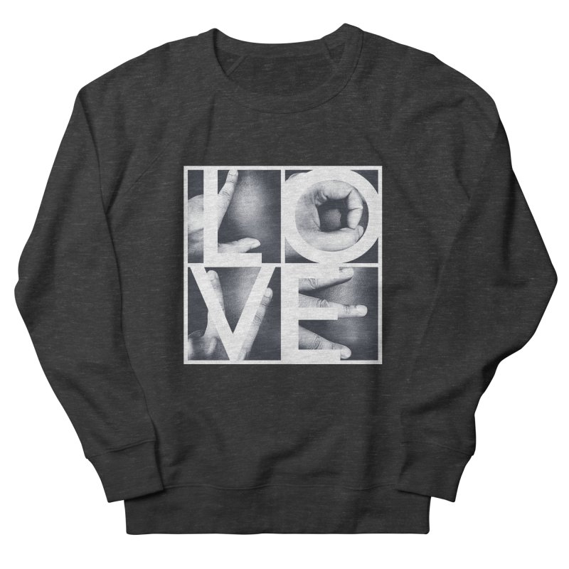 LOVE Women's Sweatshirt by Steven Toang