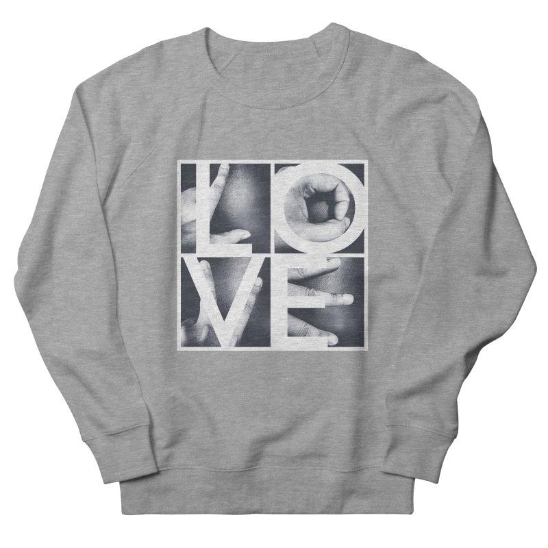 LOVE Men's Sweatshirt by Steven Toang
