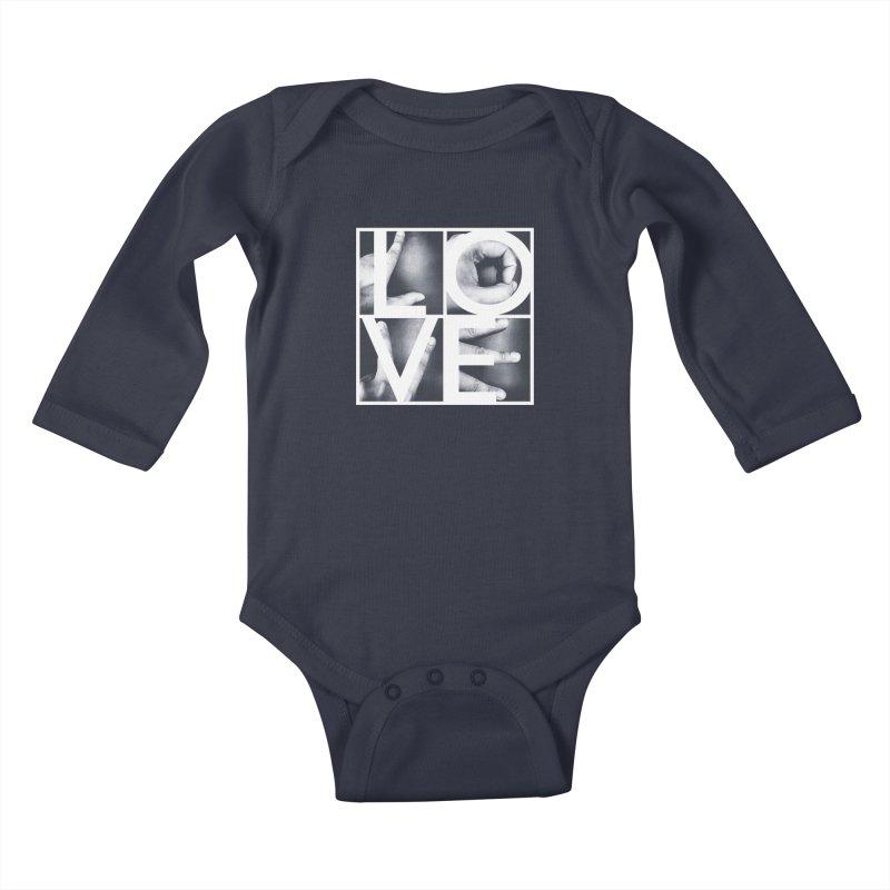 LOVE Kids Baby Longsleeve Bodysuit by Steven Toang
