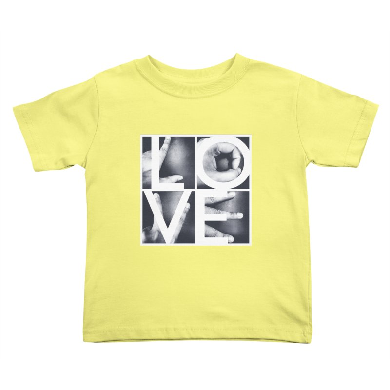 LOVE Kids Toddler T-Shirt by Steven Toang