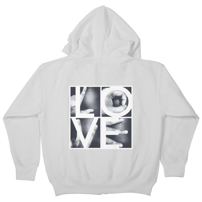 LOVE Kids Zip-Up Hoody by Steven Toang