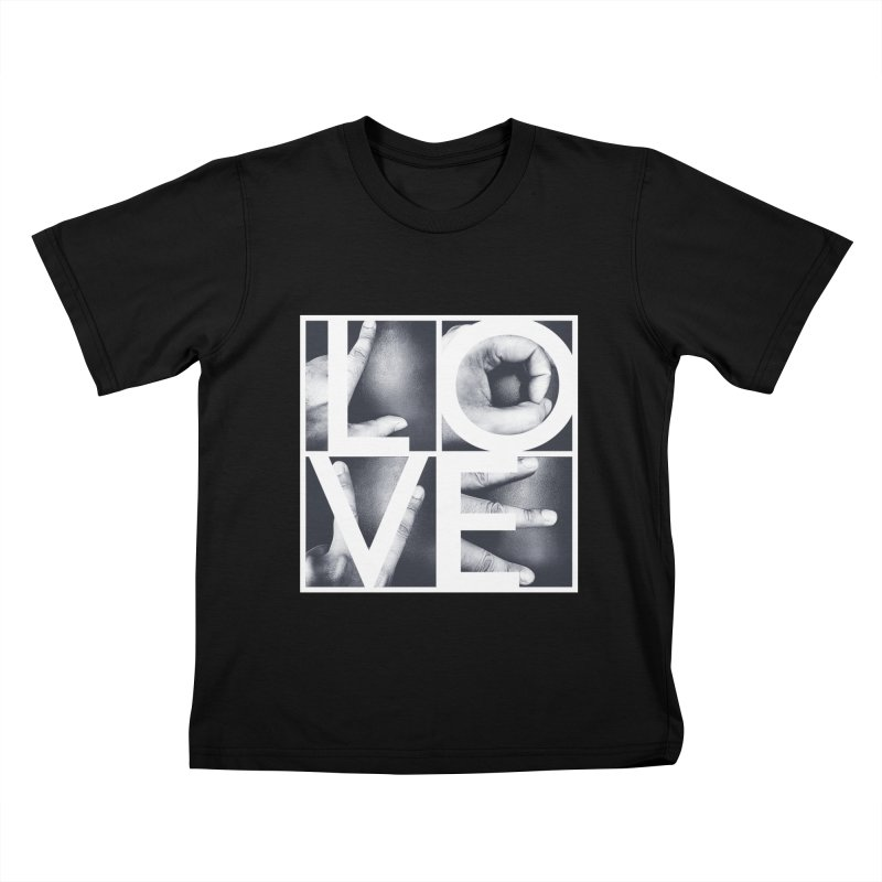 LOVE Kids T-shirt by Steven Toang