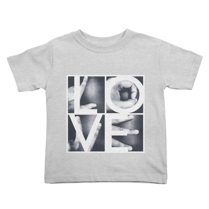 LOVE Kids Toddler T-Shirt by Steven Toang