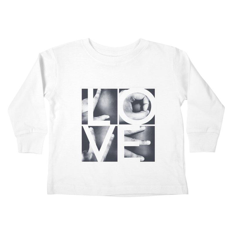 LOVE Kids Toddler Longsleeve T-Shirt by Steven Toang