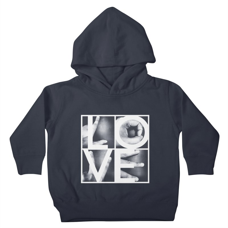 LOVE Kids Toddler Pullover Hoody by Steven Toang