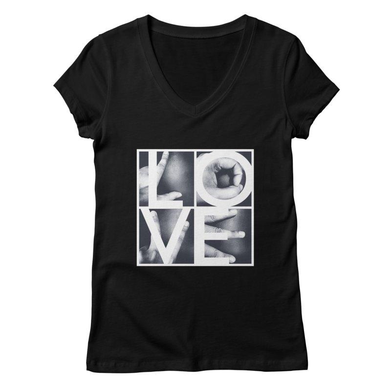 LOVE Women's V-Neck by Steven Toang