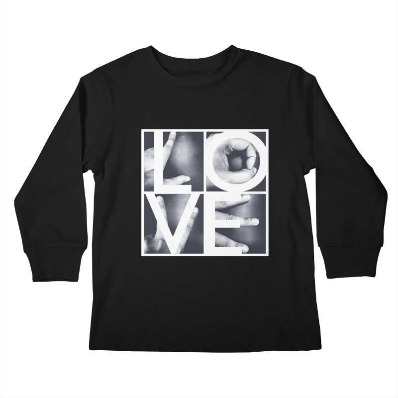 LOVE Kids Longsleeve T-Shirt by Steven Toang