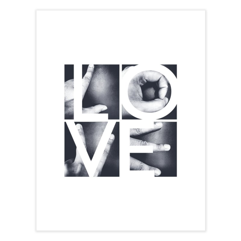 LOVE Home Fine Art Print by Steven Toang
