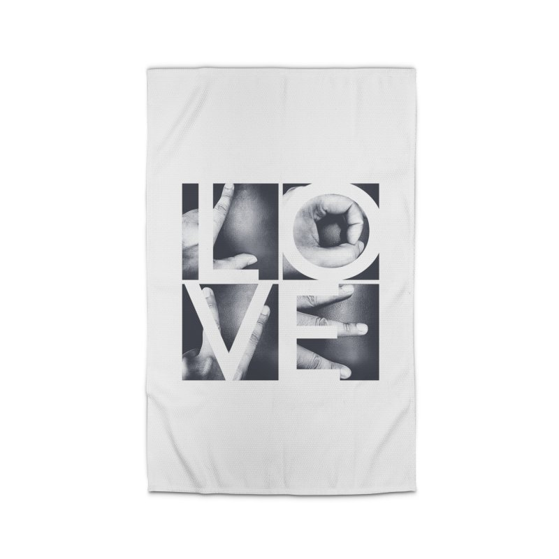 LOVE Home Rug by Steven Toang