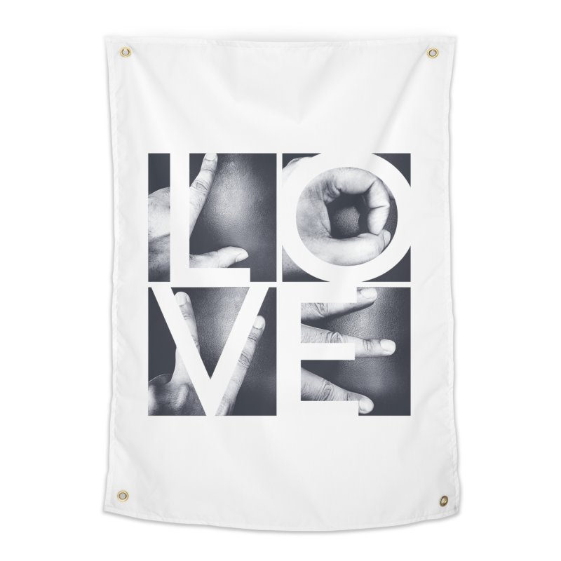 LOVE Home Tapestry by Steven Toang