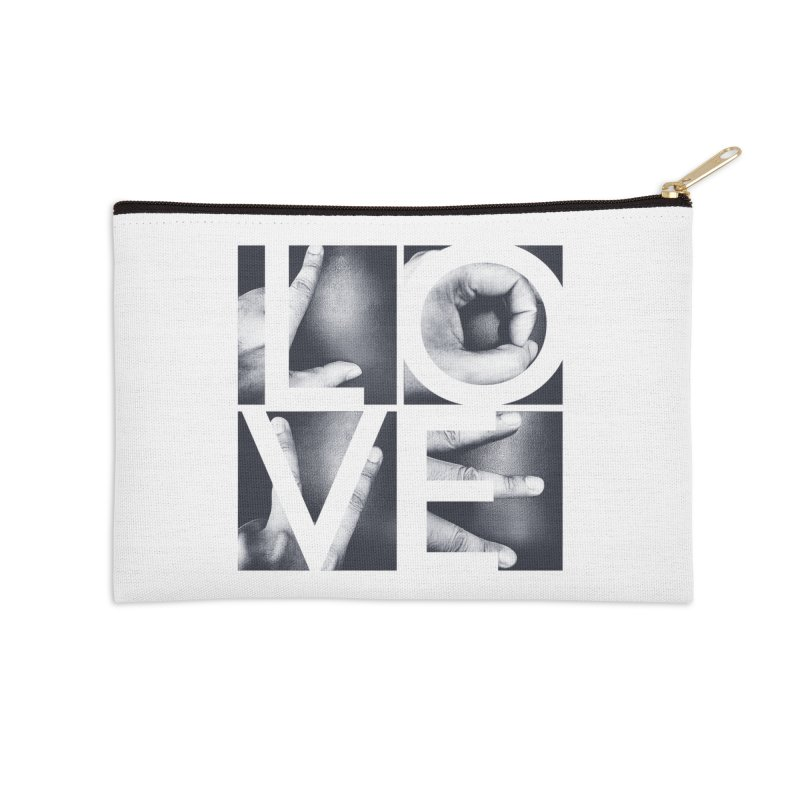 LOVE Accessories Zip Pouch by Steven Toang