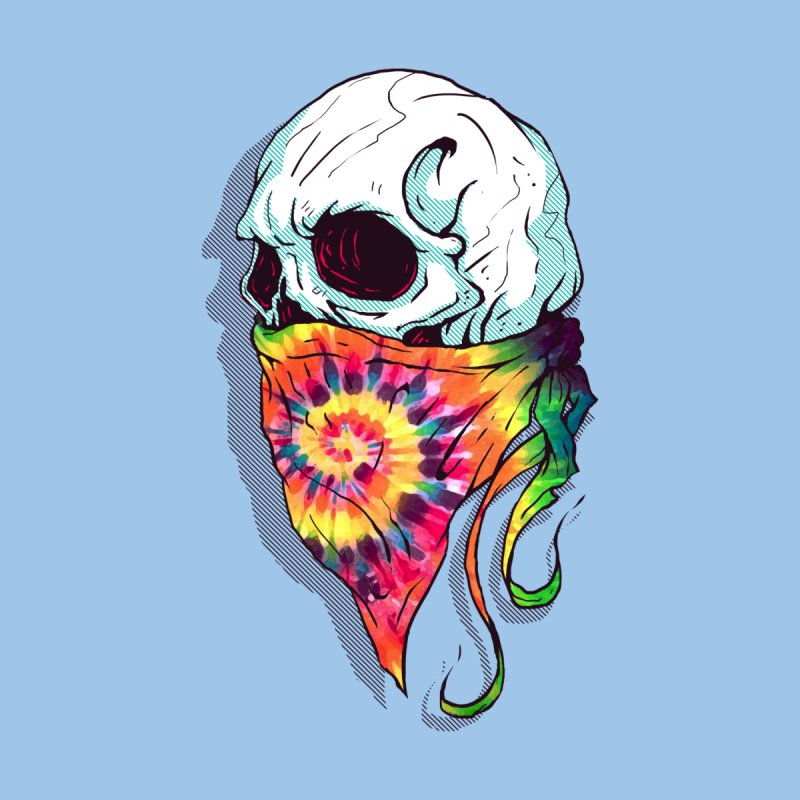 Skull Hipster None  by Steven Toang