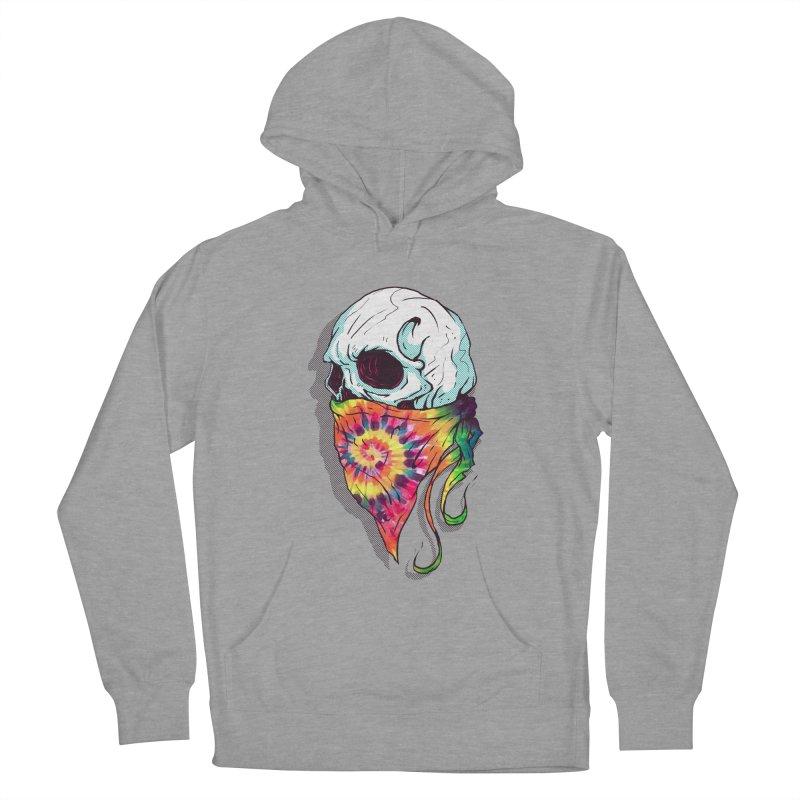 Skull Hipster Women's Pullover Hoody by Steven Toang