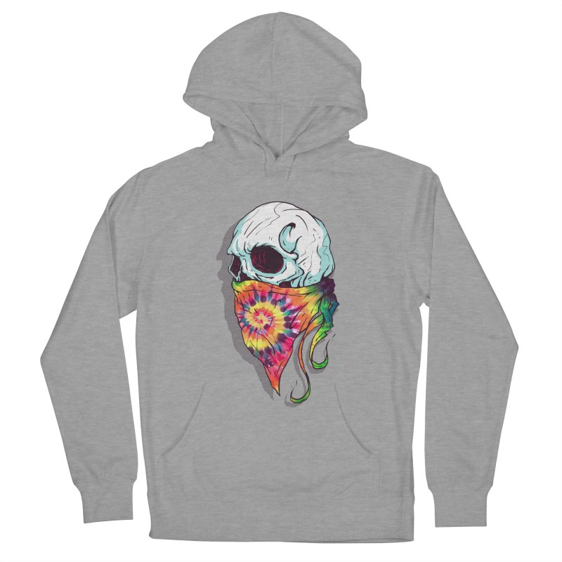Skull Hipster Men's Pullover Hoody by Steven Toang