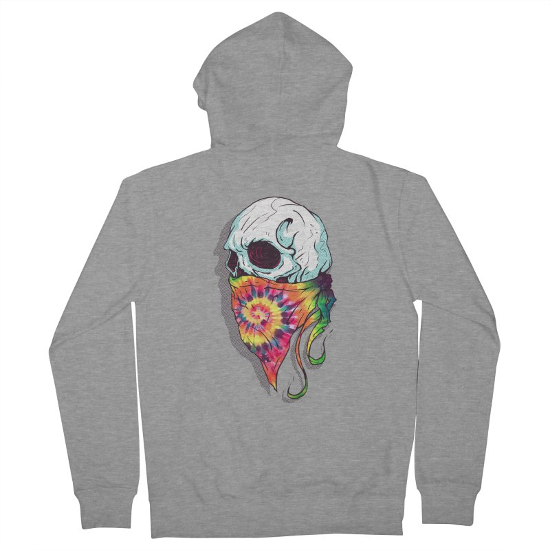 Skull Hipster Women's Zip-Up Hoody by Steven Toang