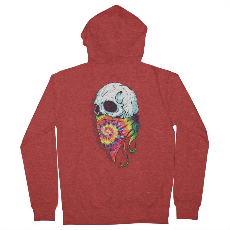 Skull Hipster Women's Zip-Up Hoody by Steven Toang