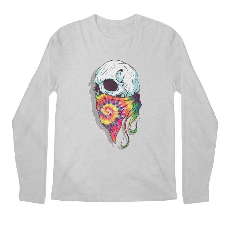 Skull Hipster Men's Longsleeve T-Shirt by Steven Toang