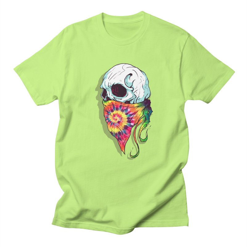 Skull Hipster Men's T-shirt by Steven Toang