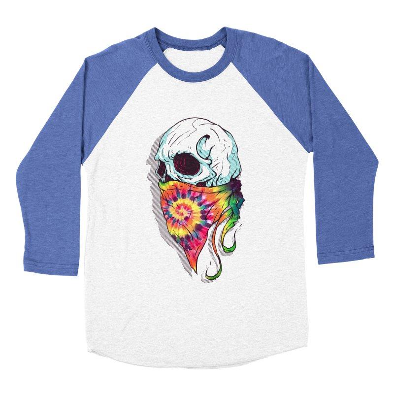 Skull Hipster Women's Baseball Triblend T-Shirt by Steven Toang