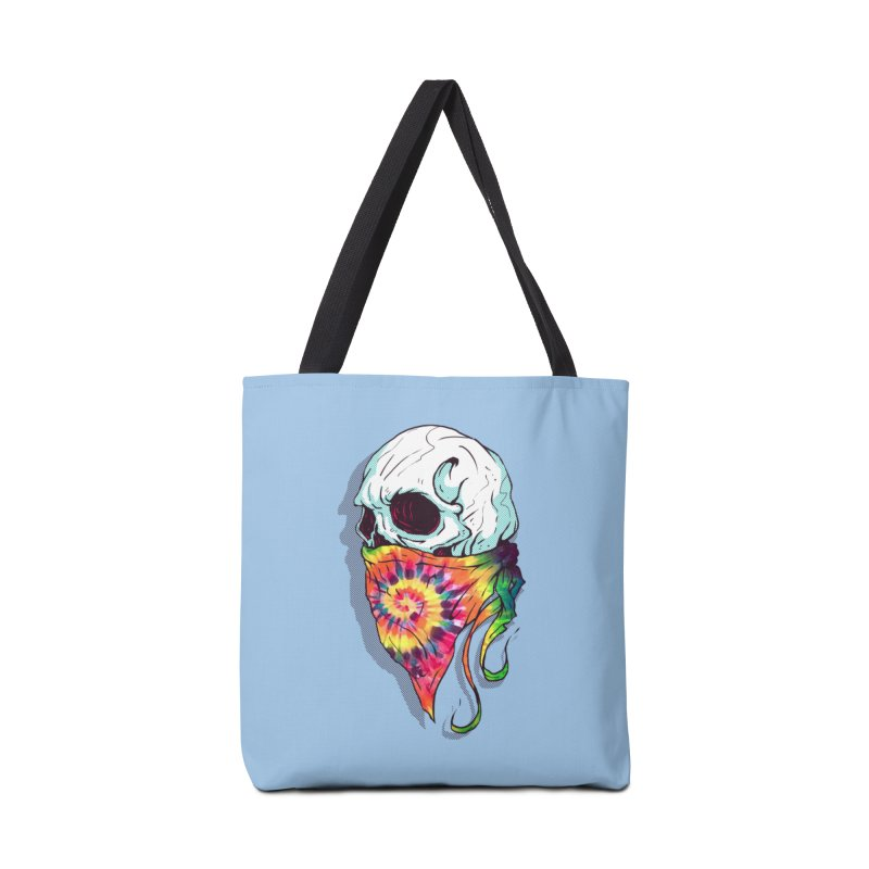Skull Hipster Accessories Tote Bag Bag by Steven Toang