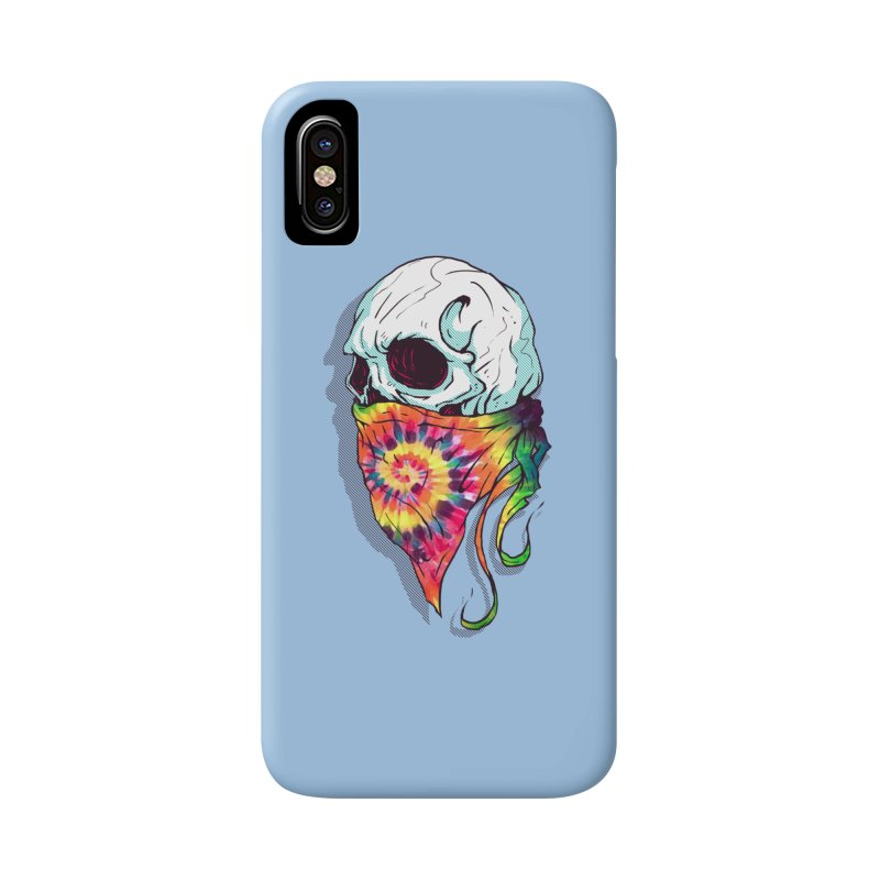 Skull Hipster Accessories Phone Case by Steven Toang
