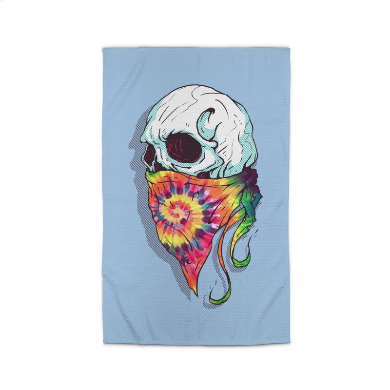 Skull Hipster Home Rug by Steven Toang