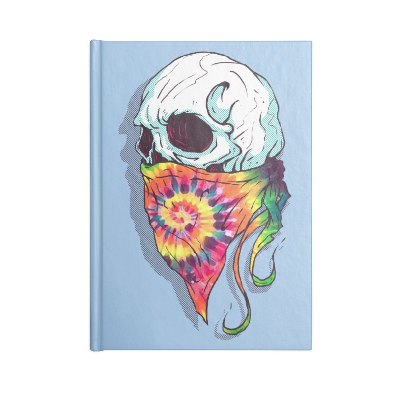 Skull Hipster Accessories Notebook by Steven Toang