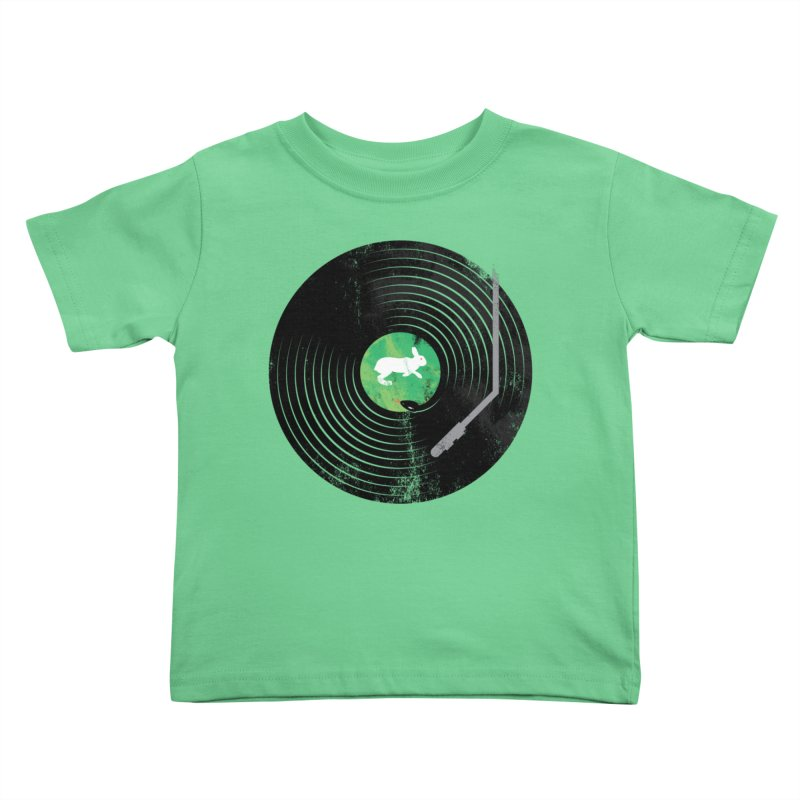 Deadly Rhythm Kids Toddler T-Shirt by Steven Toang